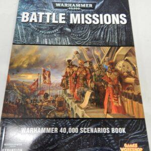 https://militaryhobbies.com.au/wp-content/uploads/2020/04/Games-Workshop-Warhammer-40K-Battle-Missions-senarios-book-302863436950.jpg